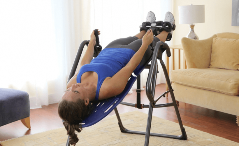 Alleviate Back Pain with These Inversion Table Exercises