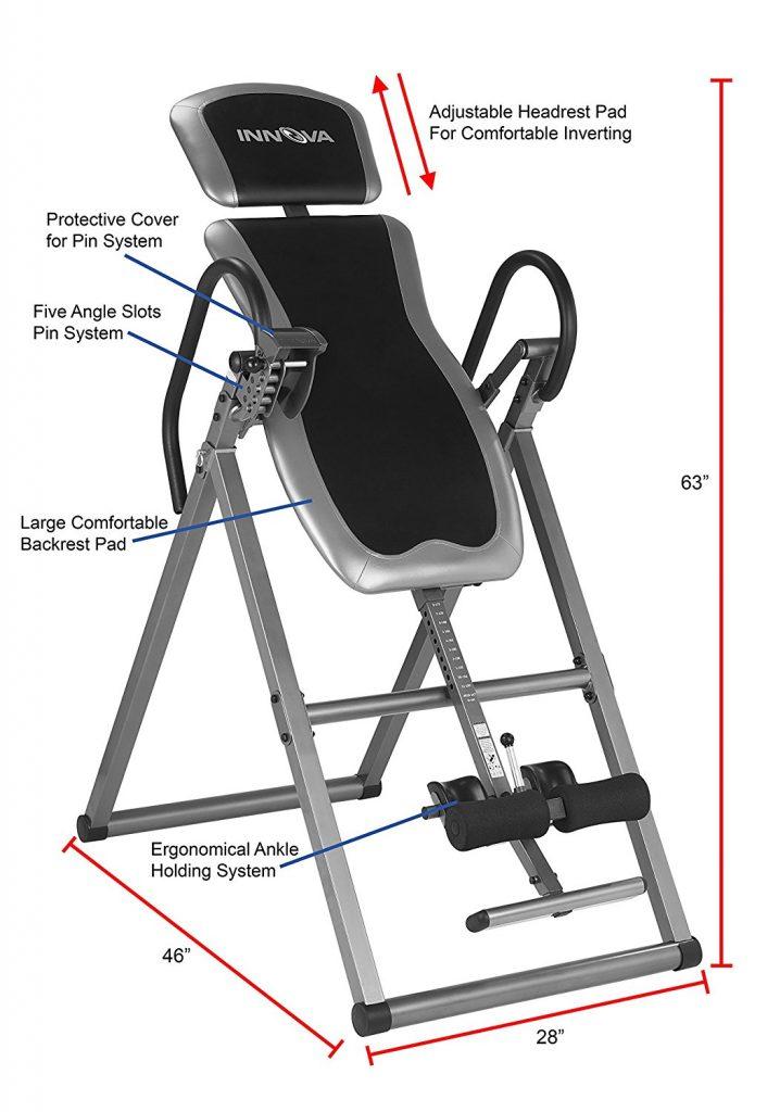 Innova ITX9600 Heavy Duty Inversion Therapy Table Build