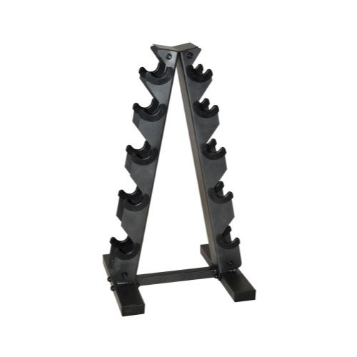 CAP Barbell Black A-Frame Dumbbell Rack