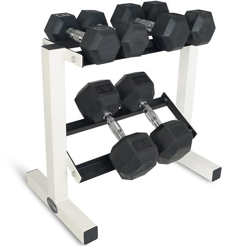 Titan Fitness 2 Tier Dumbbell Rack Stand