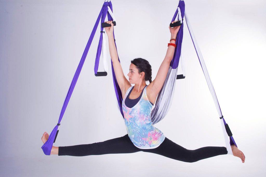 yoga trapeze swing